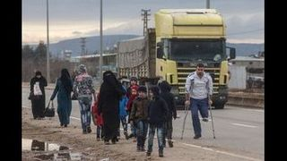 Turkey at capacity as refugees flee...