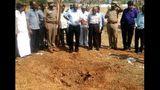 Indian scientists analyze suspected metorite