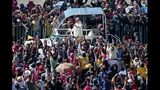 Pope condemns drug trade, violence in Mexico