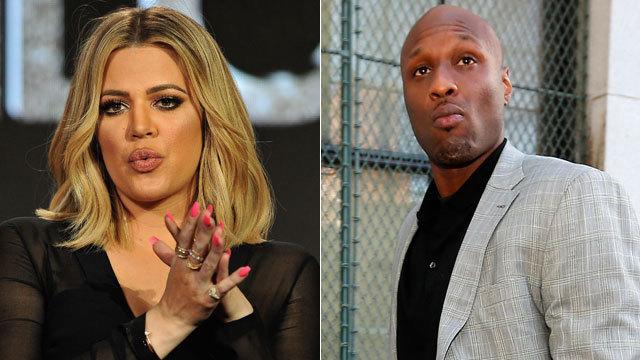 Khloe Kardashian Rocks Lamar Odom's...