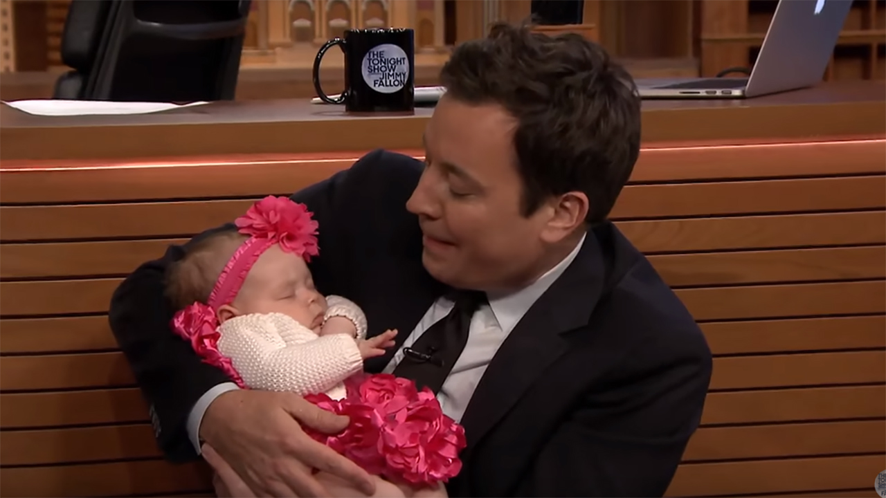 Ice-T and Coco brought their baby to The Tonight Show
