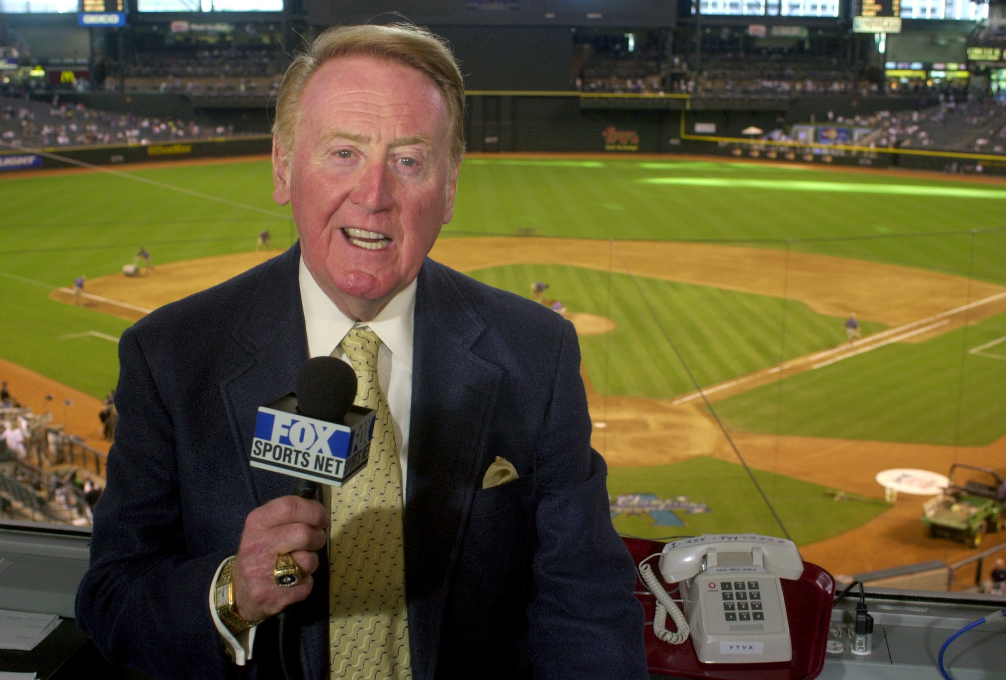 12news.com | Vin Scully: A final season for the voice of ...