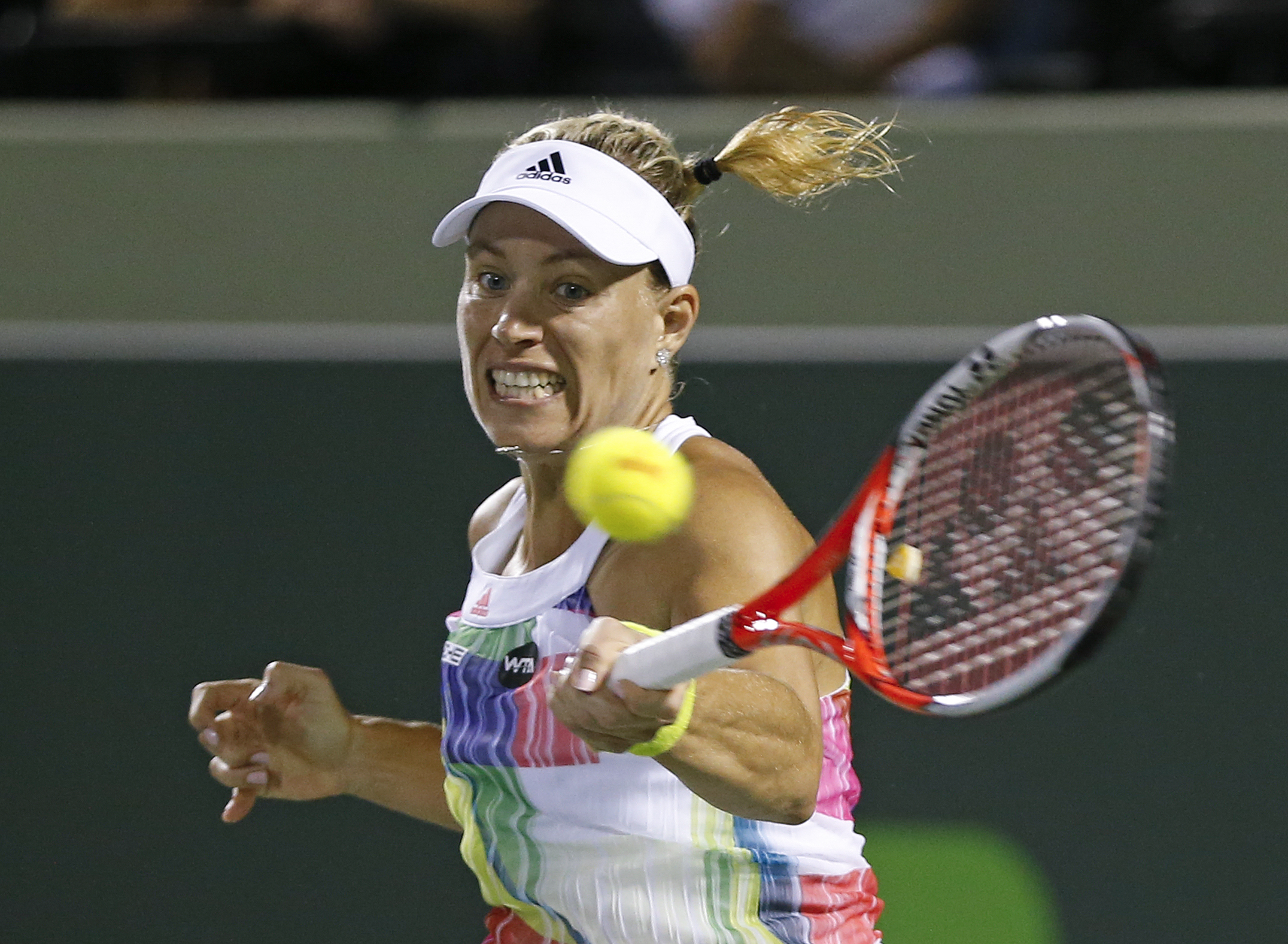 Stephens into Charleston tennis final as ill Kerber quits