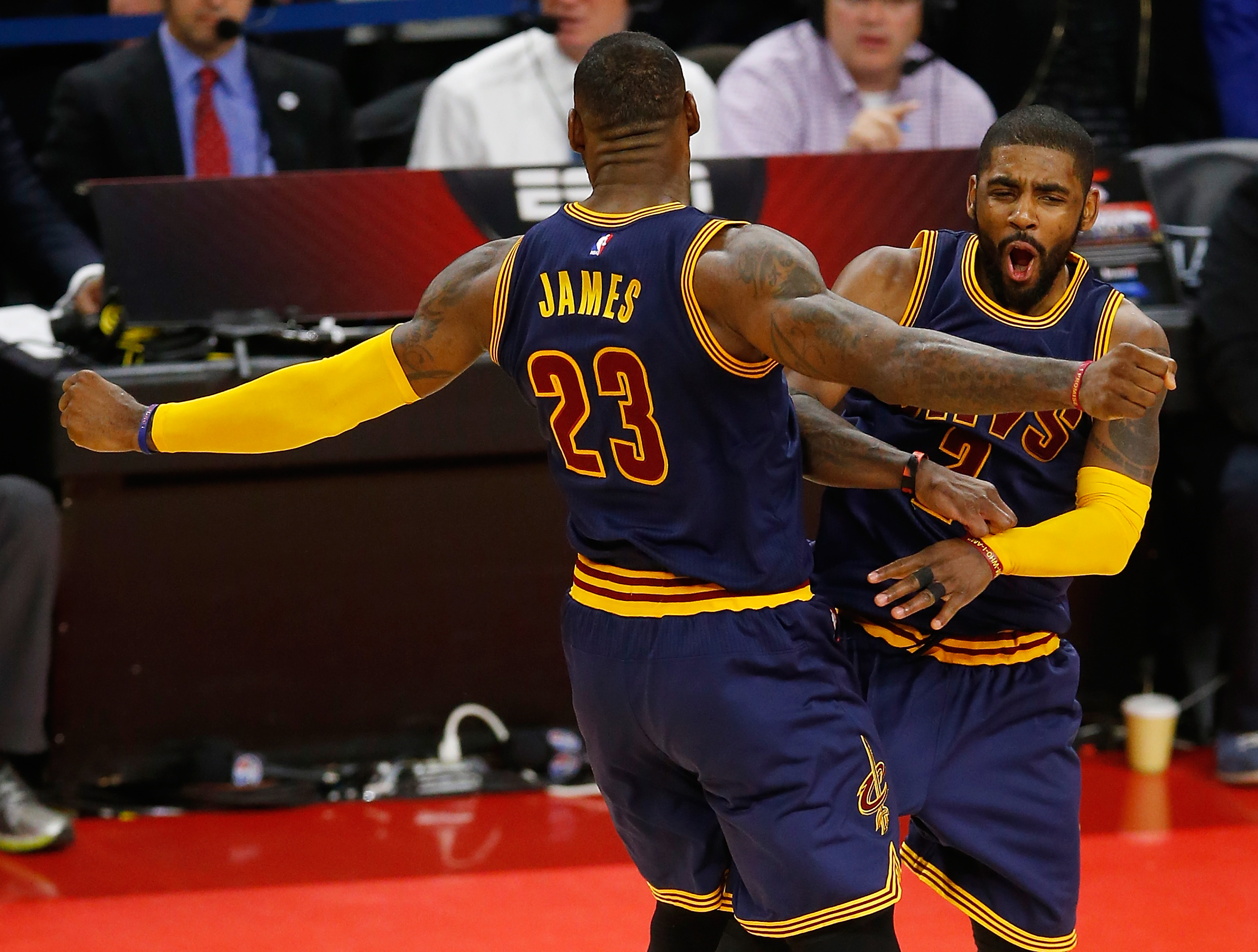 Cavs' Kyrie Irving: Teams Dared Me To Shoot
