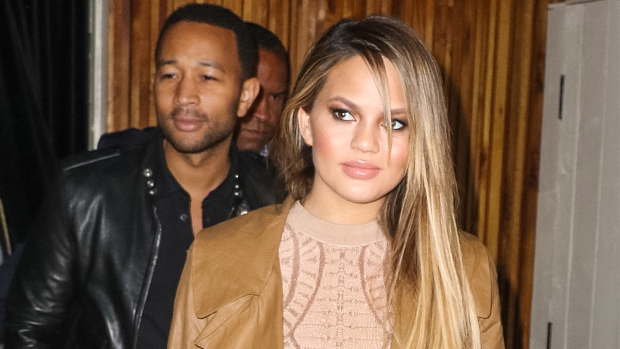 Chrissy Teigen fires back at critics for going out
