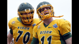 North Dakota State's Carson Wentz is ready to play in NFL now, just ask him