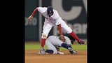 Braves end 8-game slide, beat Red Sox 5-3 behind Markakis