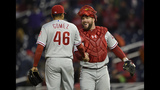 Rupp's 9th-inning hit lifts Phils over Nats 3-0 for sweep
