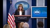 C.J. Cregg (aka Allison Janney) crashed the White House press briefing