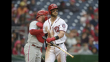 Nationals lose to Phillies 3-0 and get swept
