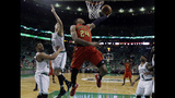 Hawks overwhelm Celtics, move to 2nd round with 104-92 win