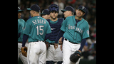 Hernandez ties Mariners win record; beat Royals 1-0