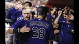 Diamondbacks hammered by Rockies' homers in 9-0 loss