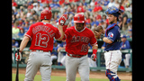 Desmond, Lewis lead Rangers over Angels 4-2 in series opener