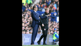 Everton beats Bournemouth 2-1 as Martinez faces protests