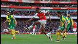 Arsenal edges past Norwich in 1-0 win on day of fan protest