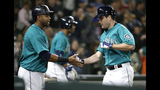 Hernandez ties Mariners win record with 1-0 decision over KC