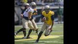 Ducks give fans a glimpse of QBs in spring game