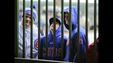 Rain postpones Braves-Cubs; Gonzalez happy game called early