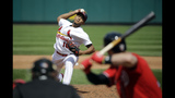 Scherzer, homers help Nationals sweep Cardinals, 6-1