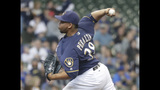 Brewers beat Miami 14-5 to snap Marlins' 7-game win streak