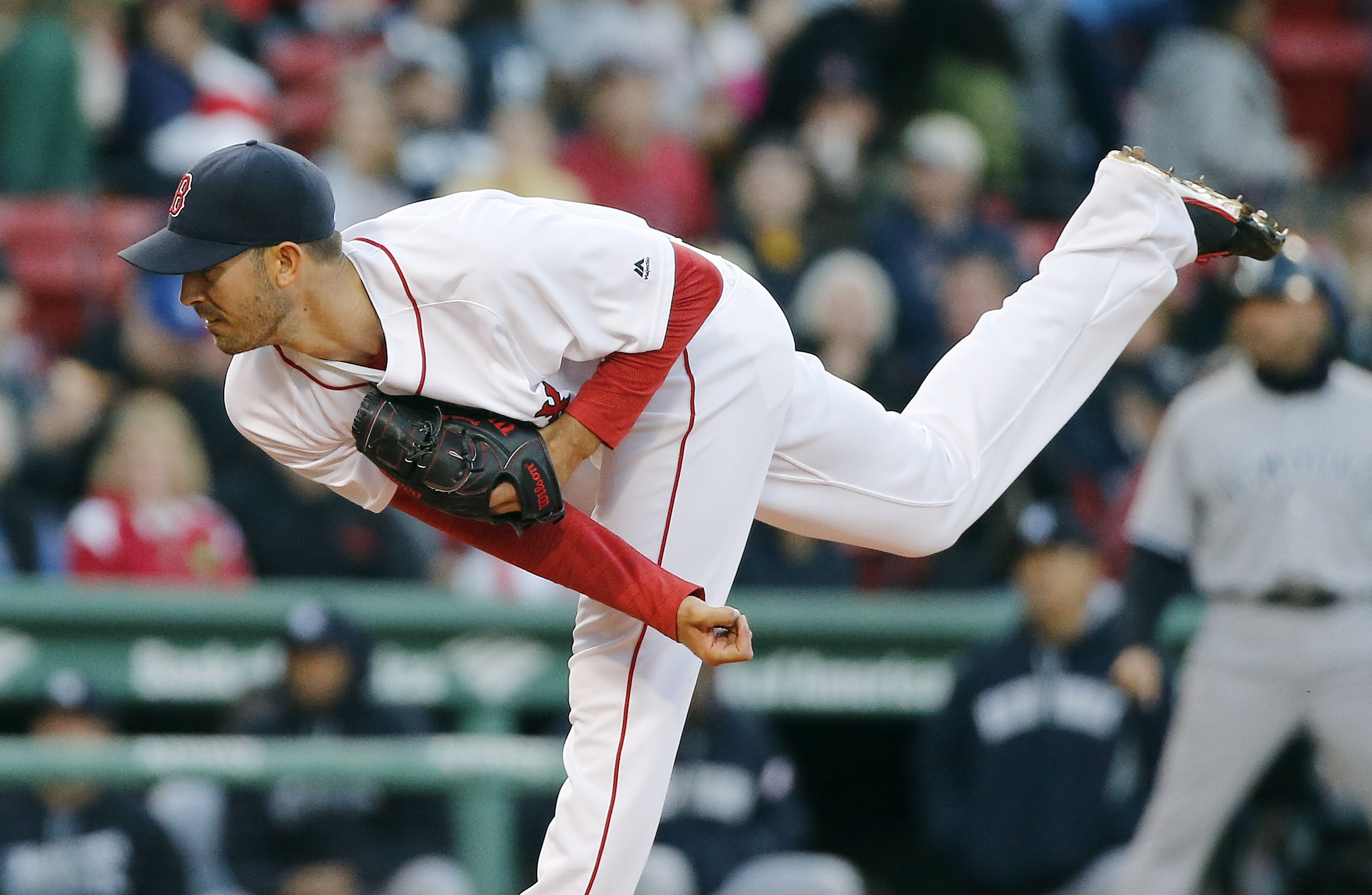Porcello now 5-0, Red Sox blank Yankees