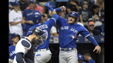 Rays beat Blue Jays 4-3 on Casali's walkoff hit