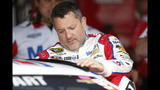 Tony Stewart turns car over to Ty Dillon after 53 laps at 'Dega
