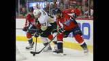 Fehr tiebreaker lifts Pens past Caps 2-1 to tie series 1-all