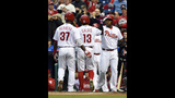 Phillies hold on for 5th straight win, beat Indians 4-3