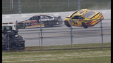 Brad Keselowski wins crazy crash-fest at Talladega