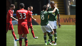 Portland beat Toronto 2-1, LA and Kansas draw 1-1