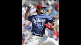 Hamels' control eludes him, Rangers fall to Angels 9-6