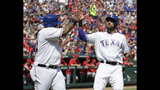 LEADING OFF: Texas visits Toronto, site of wild playoff game