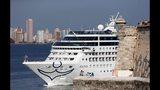 First U.S. cruise in decades arrives in Cuba