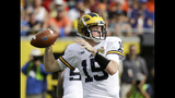 After strides at Michigan, Rudock gets NFL shot with Lions