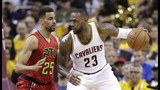 Cavaliers hold off Hawks for tough Game 1 win