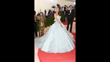 Claire Danes wore a light-up Cinderella dress to the Met Gala