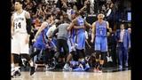 Thunder beat Spurs in frantic finish
