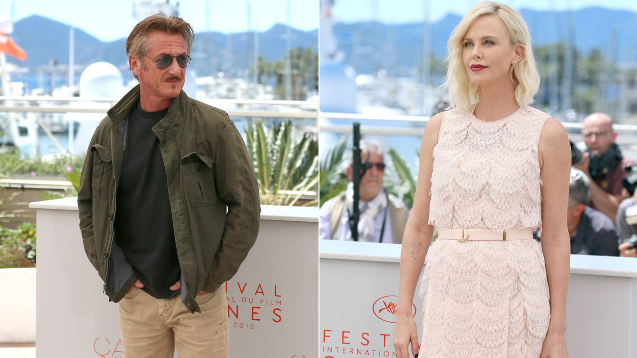 Charlize Theron And Sean Penn Reunited In Cannes A Year