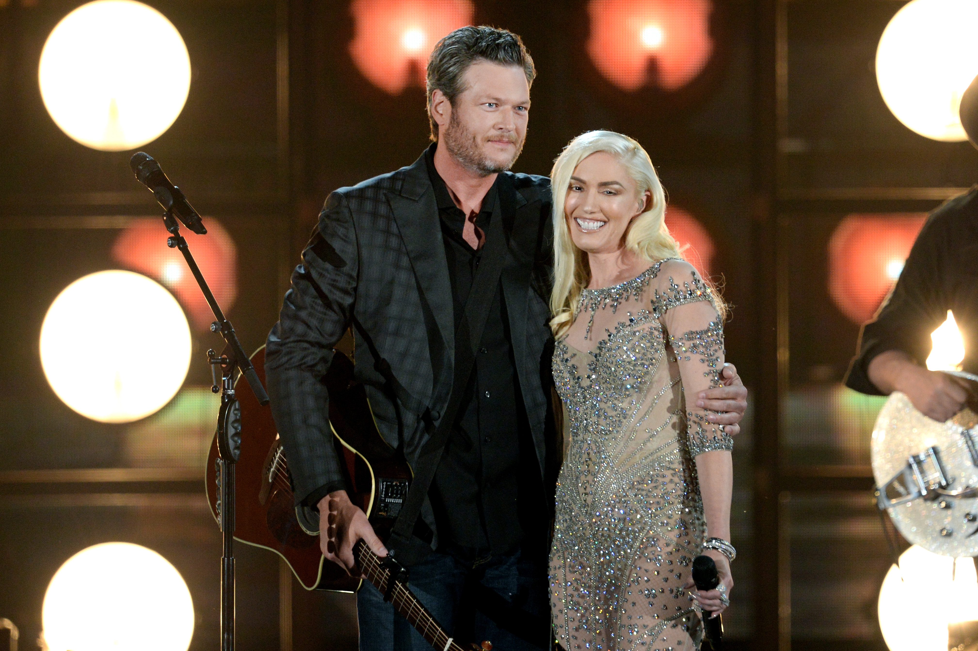 Gwen Stefani gets hearts racing in little red dress with