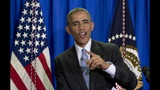 Obama says world leaders right to be 'rattled' by Trump