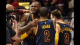 Healthy Kyrie Irving, Kevin Love give LeBron James 'a different feeling'…