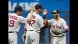Blue Jays lose 5-3 to Pedroia, Red Sox