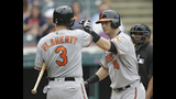 Indians hit 3 homers in 6-4 loss to Orioles