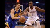 Klay Thompson's historic night keeps Warriors title hopes alive