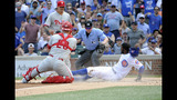 Zobrist, Montero homer, Lackey sharp as Cubs sweep Phillies
