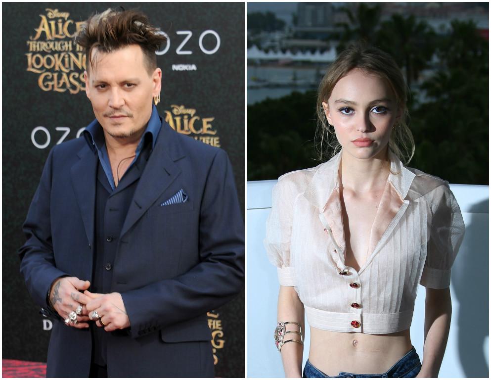 Johnny Depp's daughter...