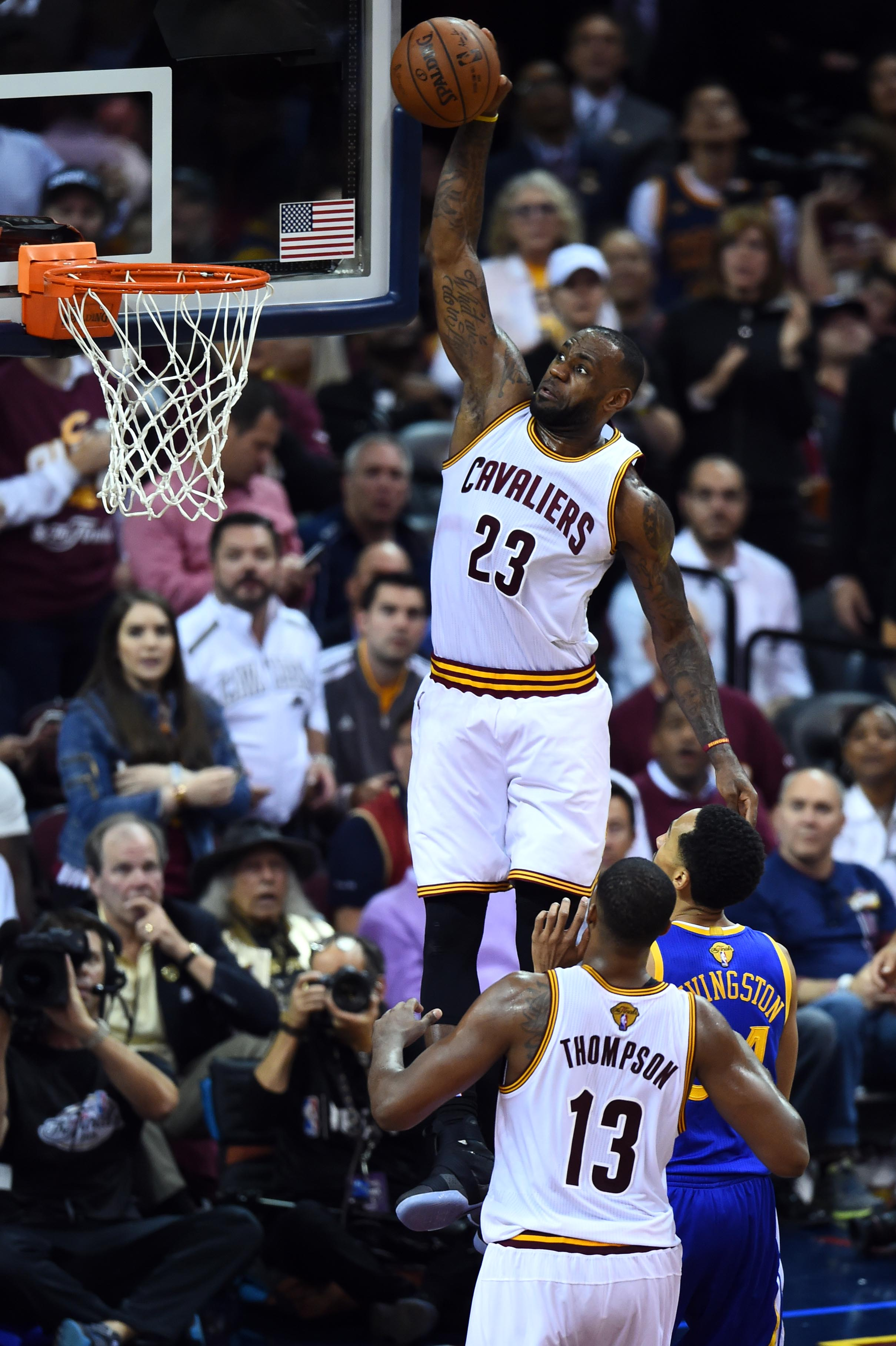 Kyrie Irving on alley-oop to LeBron: 'I wanted to see ...