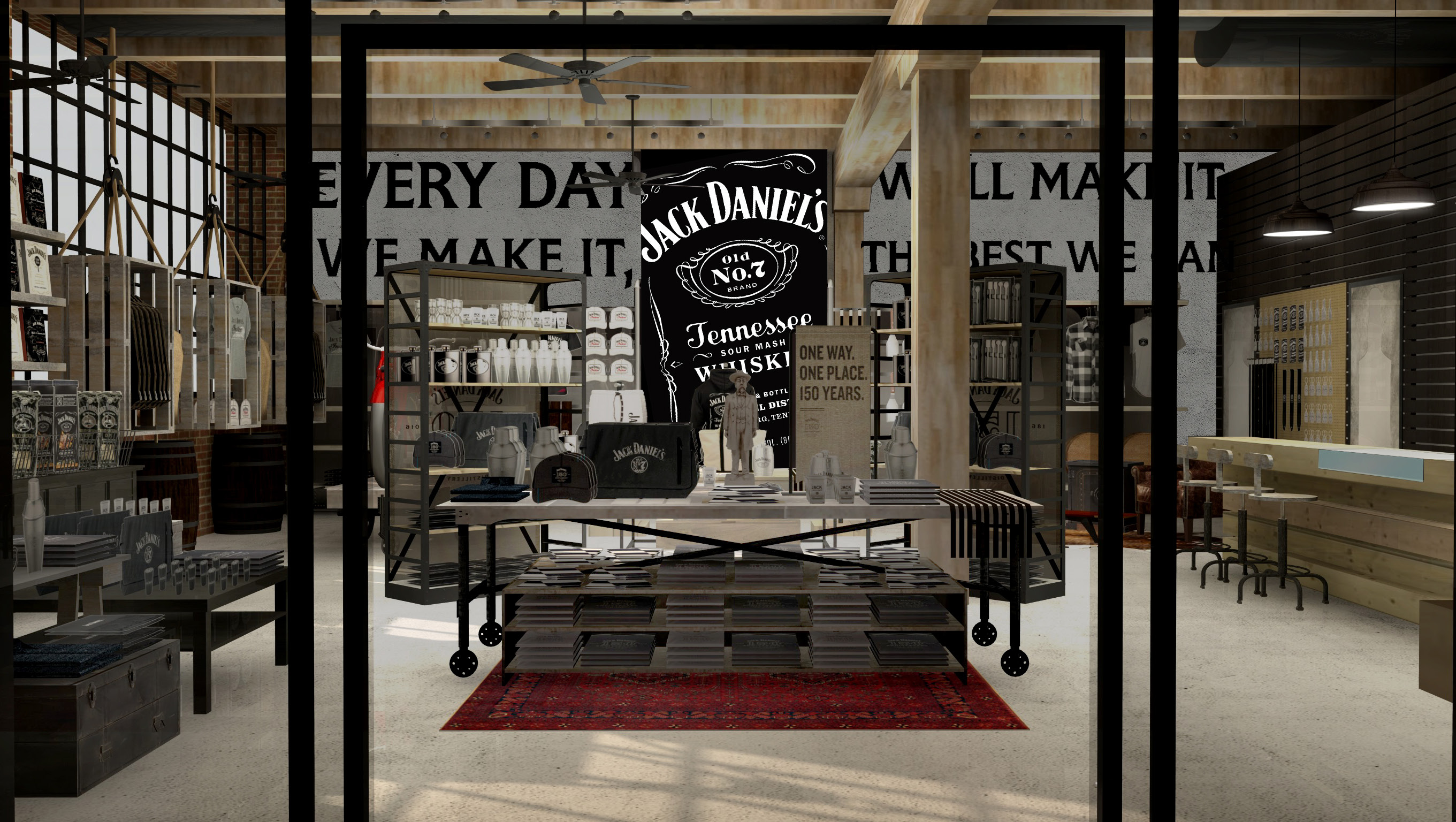 jack daniel 39 s opening store outside lynchburg home. Black Bedroom Furniture Sets. Home Design Ideas
